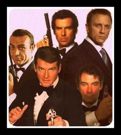Джеймс бонд: актори, які зіграли легендарного агента в усіх частинах