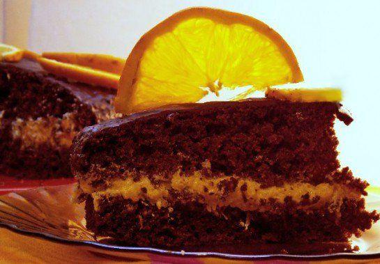 Готуємо шоколадний торт з апельсинами