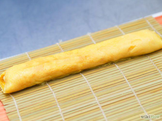 Зображення з назвою Make Tamagoyaki (Sweet Omelette) Step 6