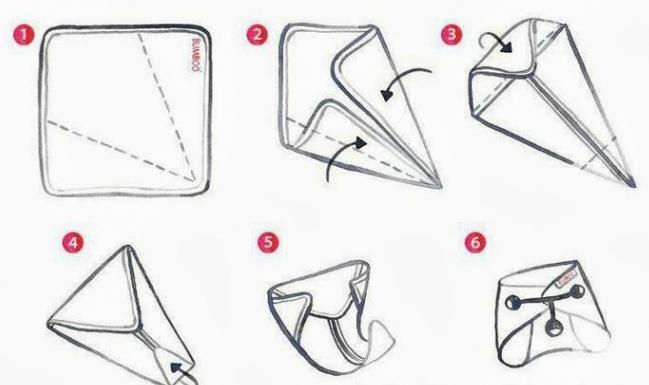 марлеві підгузники для новонароджених як зробити