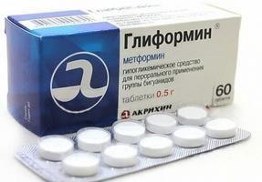 гліформін 1000 ціна