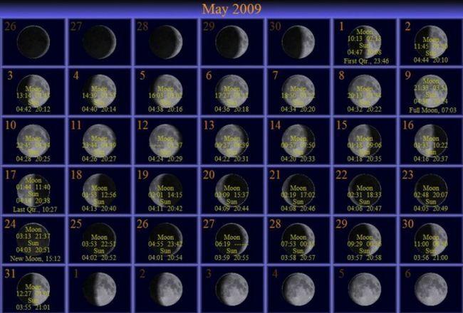 Місячний календар для садівників на травень 2014 року