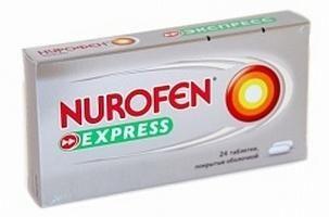 нурофен експрес склад