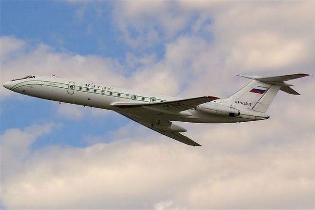Літак ту-134: технічні характеристики