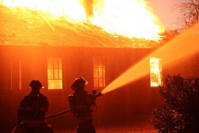 сон пожежа в будинку