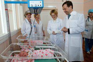 350 Млн рублів виділено президентом на закупівлю обладнання для пологових будинків країни