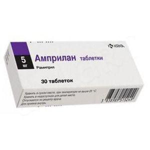 Ампрілан таблетки інструкція із застосування
