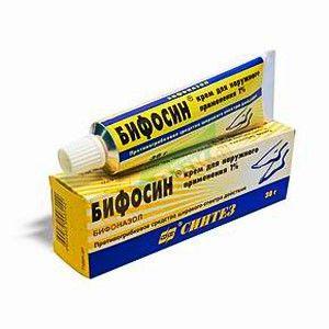 Біфосін крем інструкція із застосування