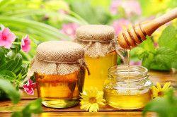 Користь меду при ангіні