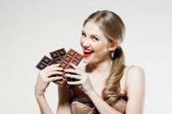 Гарний настрій при вживанні шоколаду