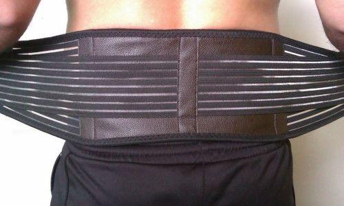 Застосування пояса для спини
