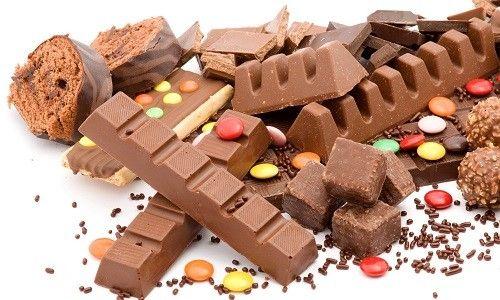 Шоколадні цукерки і плитки