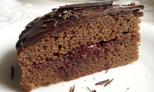 Рецепт бісквіта з шоколаду на окропі
